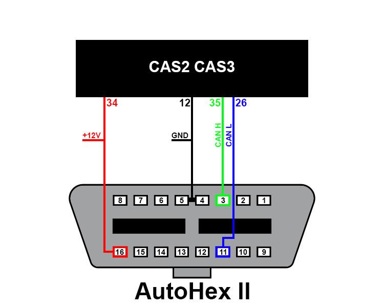 rx7 cas wiring diagram