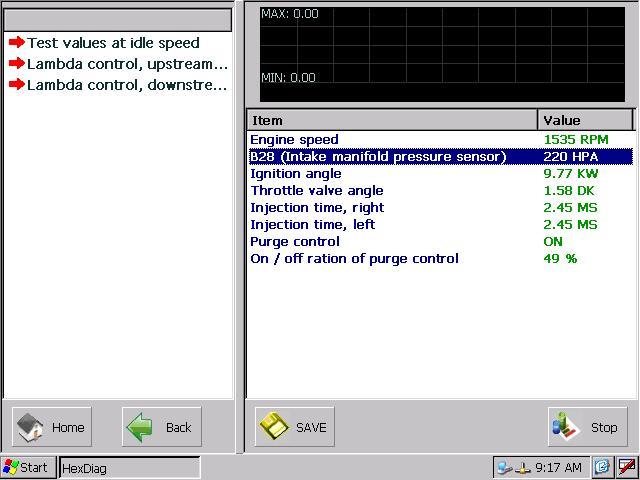 Autohex scan tool mercedes benz actual values for sensors for Mercedes benz software
